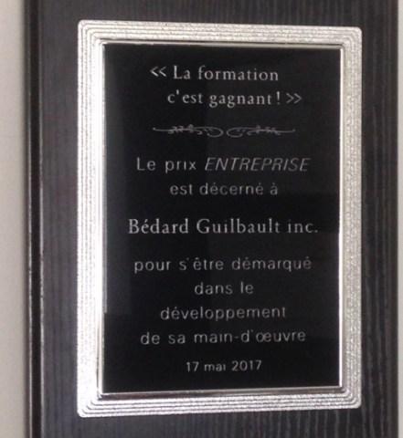 La formation c'est gagnant-Bedard Guilbault
