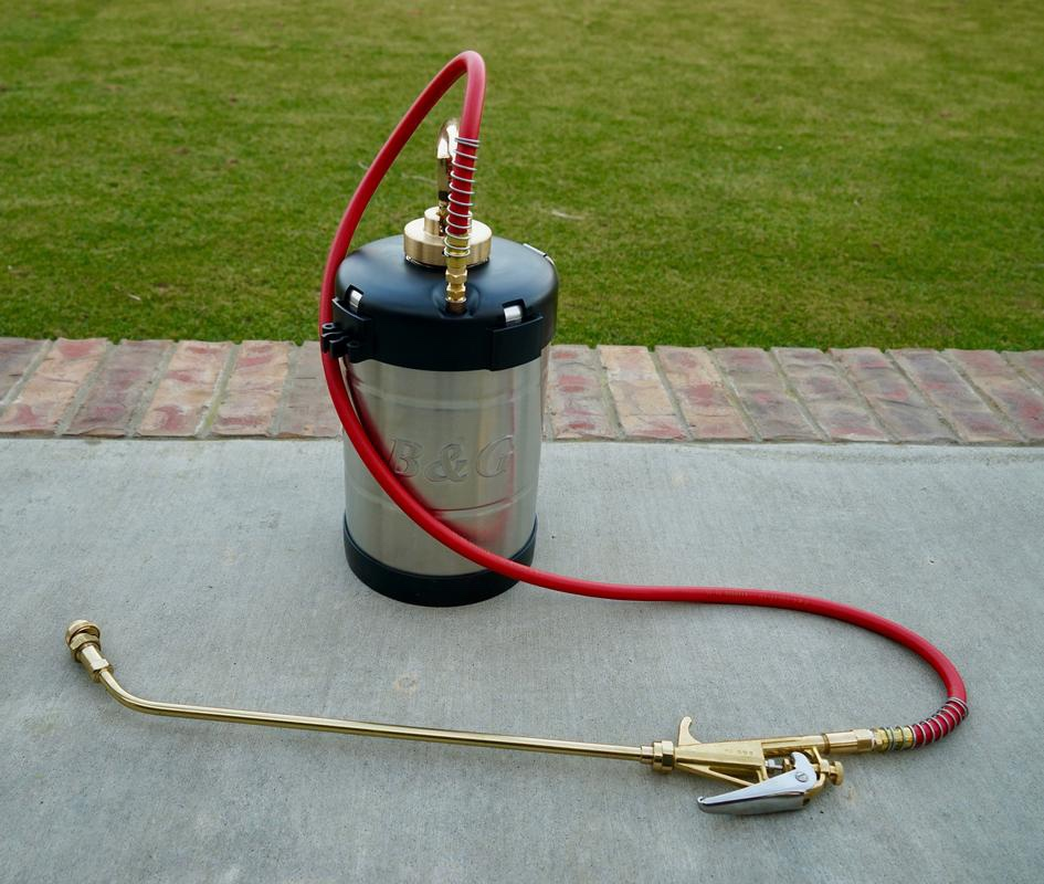 Non-repellent chemical bed bug treatment equipment pictured. Dead Bug Walkin LLC.