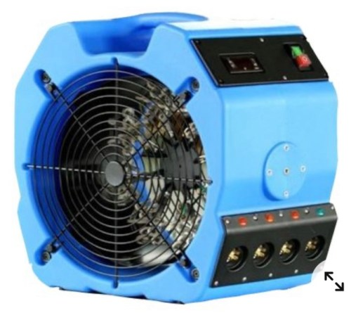 Electric bed bug heater shown in image.​