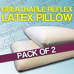 Sleepkings Reflex Latex Pillows (Pack of 2)