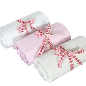 Hoeslaken Voor Baby Ledikant Wit