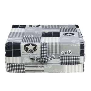 Opvouwbaar matras Rumba - zwart/grijs - 70x190x9 cm - Leen Bakker