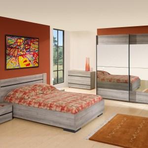 Complete slaapkamer GRETEL 140x190 cm mara