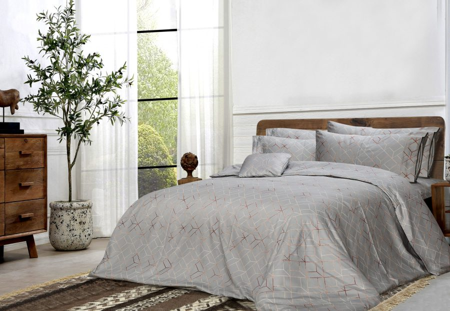 6 Pcs Printed Sateen Quilt Cover - Brizo