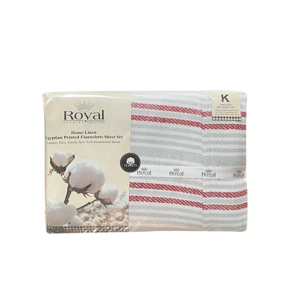 100% Pure Cotton Cozy Winter Flannelette Sheet Sets Design- Gradels~FREE POSTAGE~