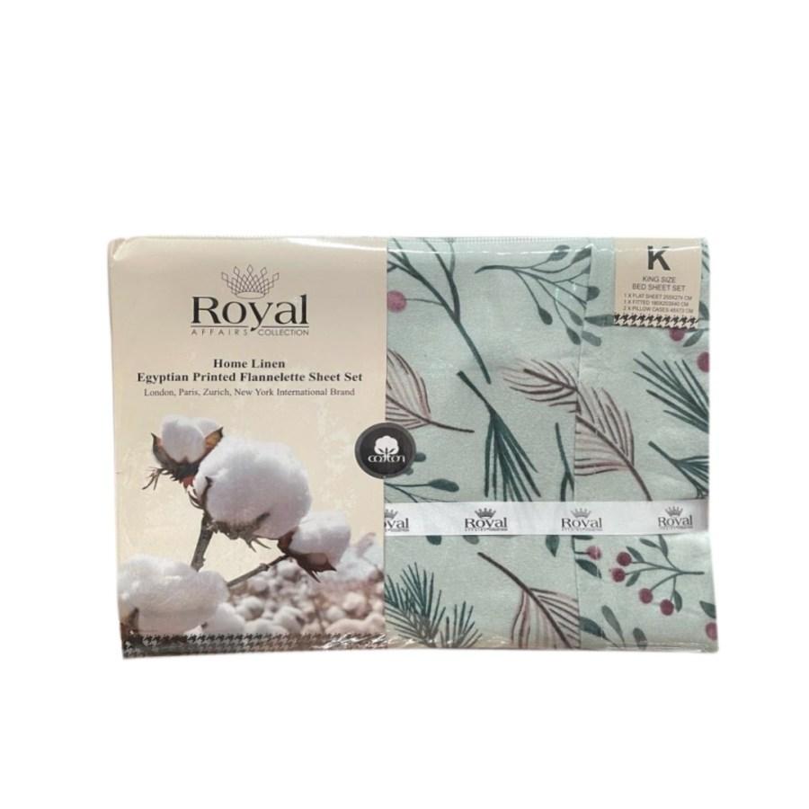 100% Pure Cotton Cozy Winter Flannelette Sheet Sets Design- Sienna~FREE POSTAGE~