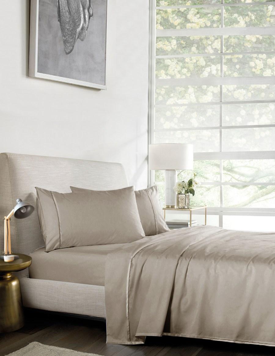 1000TC Pure Egyptian Cotton Sheet Set – BEIGE