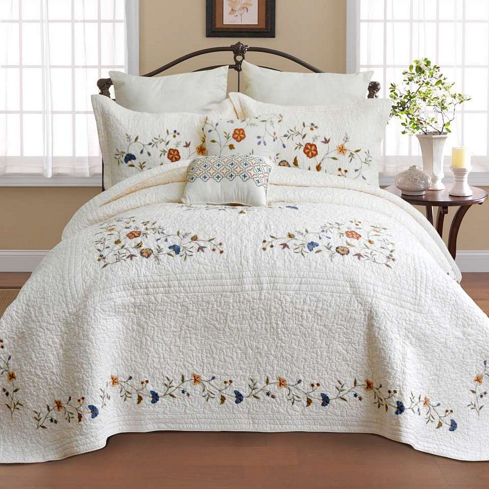 Alice Bedspread Collection By Nostalgia Heirloom
