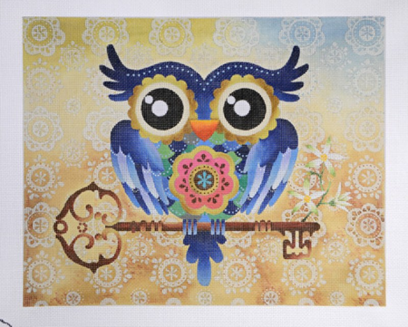 Owl with Key - Sandra Vargas