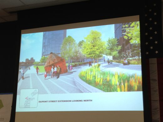 Proposed Dupont Street Park (Photo: Natalie Rinn)