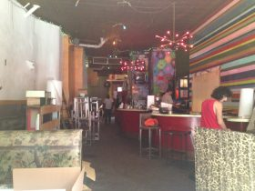 The Max Fish space after its last party. (Photo: Anna Silman)
