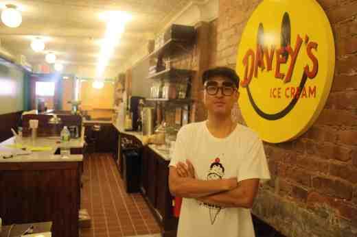 David Yoo, insdie Davey