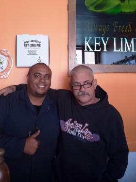 Carlos DeSantos (left) and Steve Tarpin (right).