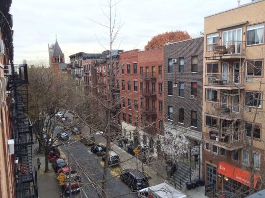 It happened on genteel East 10th Street. (Photo: Daniel Maurer)