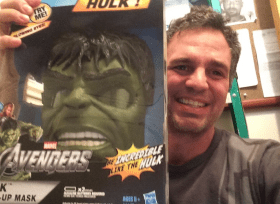 Mark Ruffalo is donating some Hulk memorabilia.