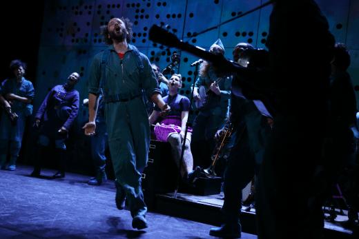 Eric Farber and ensemble (photo: Julieta Cervantes)