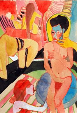 """Kimia Ferdowsi Kline, """"Breathless"""" (image courtesy of IDIO Gallery)"""