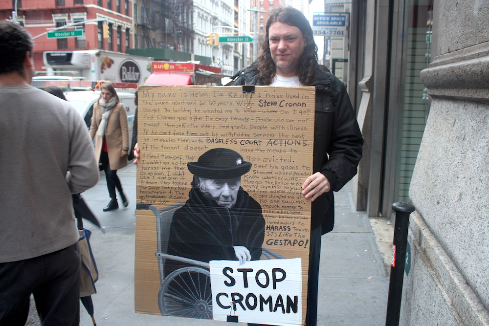 At a Stop Croman march last month (Photo: Luisa Rollenhagen)