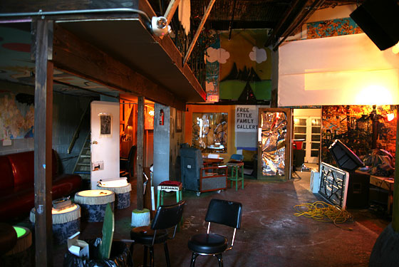 Glasslands, before the remodeling (Photo: Tracy Morford for New York magazine)