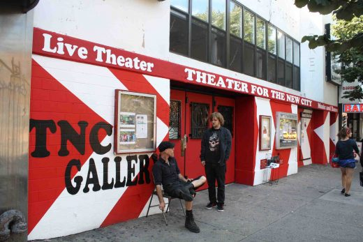Theater for the New City, another small and independent theater hanging on (photo: Natalie Rinn)