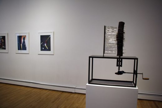 Installation view of William Eakin