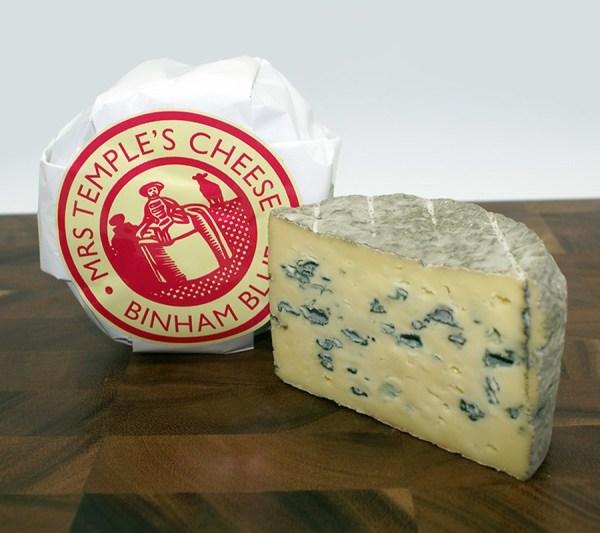 Mrs Temple's Cheese Binham Blue