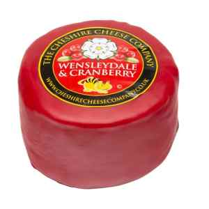 NEW The Cheshire Cheese Company - Wensleydale & Cranberry 200g