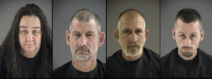 5 Arrested in connection to thefts