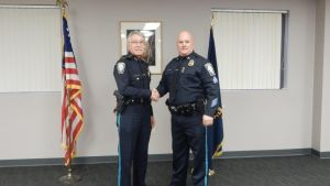 Two Bedford Police Officers Promoted to Sergeants