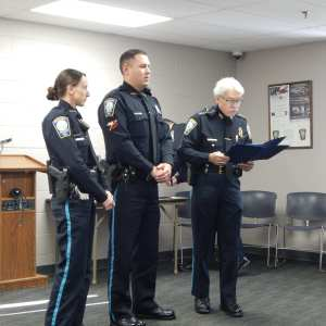 Bedford Police Department Holds Annual Awards Ceremony