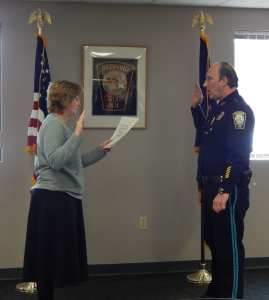 Photos: Bedford Police Department Swears In New and Promoted Officers