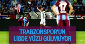 Trabzonspor'un yüzü gülmüyor