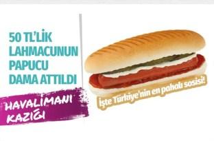 İstanbul Havalimanı'nda sosislinin fiyatını duyanlar şaşkına döndü
