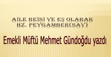 Ailede Eş Hz Muhammed (s.a.v)