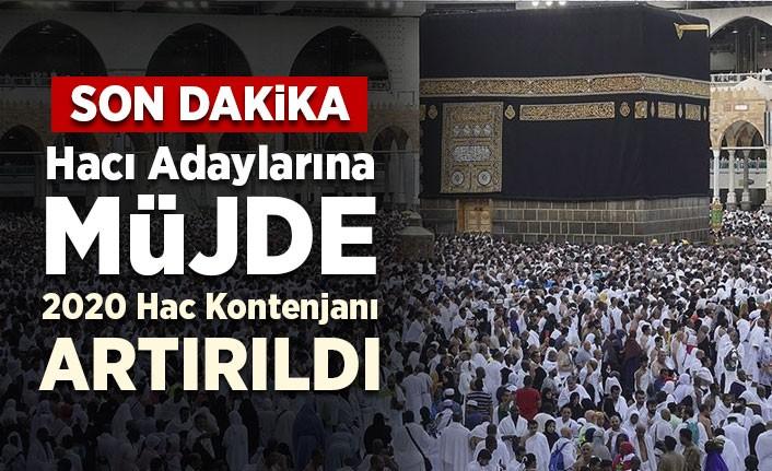 Türkiye hac kotasında güncelleme: 83 bin 430'a yükseltildi