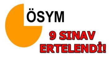 ÖSYM Başkanı Aygün: Sınav tarihleri gözden geçirildi ve yeniden düzenlendi