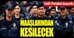 """Fatih Portakal: """"Polis maaşlarından bağış kesintisi olacak"""""""