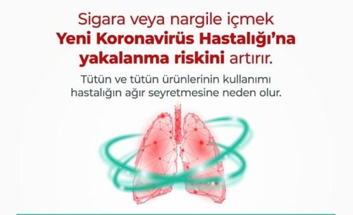 Sağlık Bakanlığı'dan koronavirüs bilgilendirme mesajları