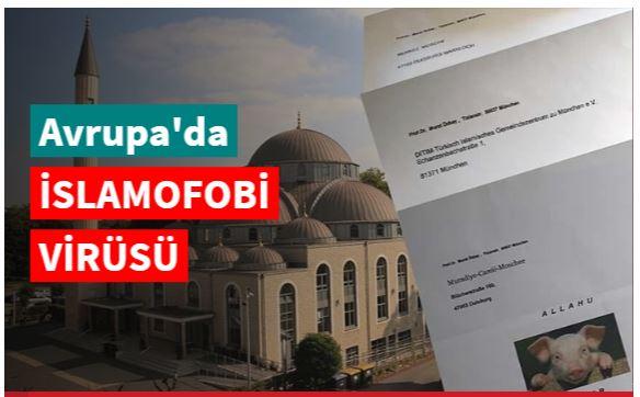 Bayramda camilere hakaret içerikli mektup gönderildi