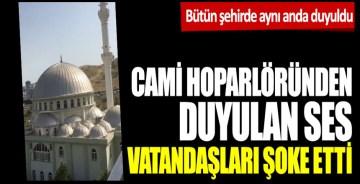 İzmir'de cami hoparlörlerinden Çav Bella çalındı