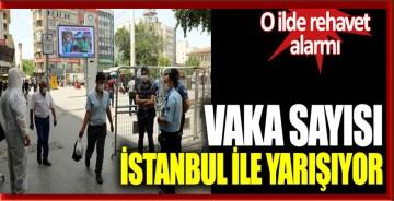 Vaka sayısı İstanbul ile yarışıyor: O ilde rehavet alarmı