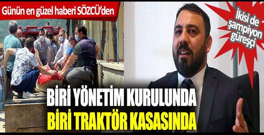 Vehbi Akdağ'ın cenazesi traktör kasasında, Hamza Yerlikaya bankanın yönetim kurulunda