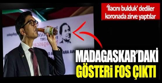 İlacını bulduk' dediler koronada zirve yaptılar: Madagaskar'daki gösteri fos çıktı!