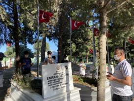 Şarköy'lü gençler şehitlerimizi yad etti