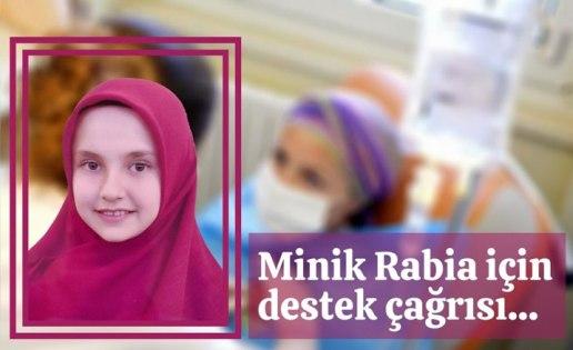 Minik Rabia için destek çağrısı