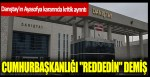 """Danıştay'ın Ayasofya kararında kritik ayrıntı: Cumhurbaşkanlığı """"reddedin"""" demiş"""