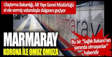 Marmaray komedisi: Ulaştırma Bakanlığı, Alt Yapı Genel Müdürlüğü el ele vermiş vatandaşla dalgasını geçiyor