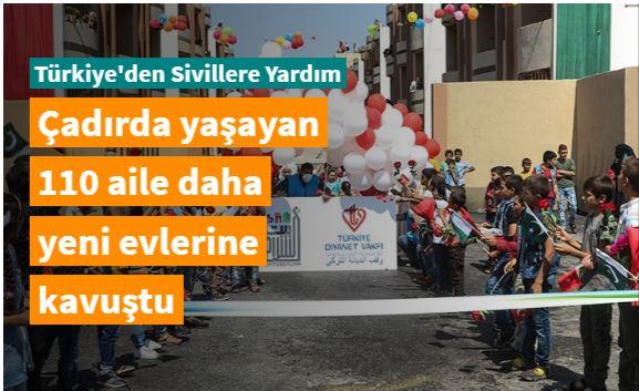 TDV ve Baitussalam Derneğinden İdlib'e 110 kalıcı konut