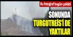 Bu fotoğraf bugün çekildi… Sonunda Turgutreis'i de yaktılar