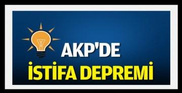 AKP'de büyük deprem! Mersin'de toplu istifa geldi
